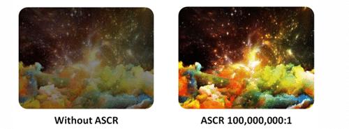 Asus VS278H Test des Smart Contrast Ratio-Effekts