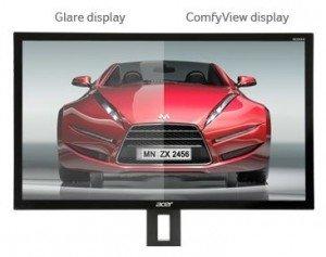 Acer Predator GN276HLbid Test des ComfyView Vorteils