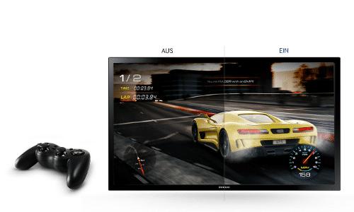 Samsung S24D330H Test von dem Game-Modus