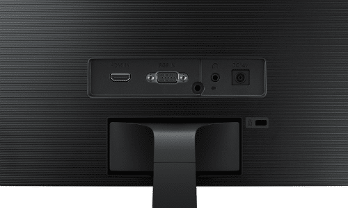 Samsung C27F396F Test der Monitoranschlüsse (VGA)